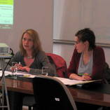 Stéphanie Taymans et Rachel Delefortrie